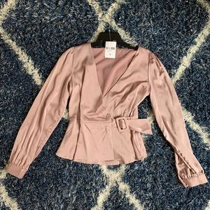 Blush Pink Shirt, Forever 21, S
